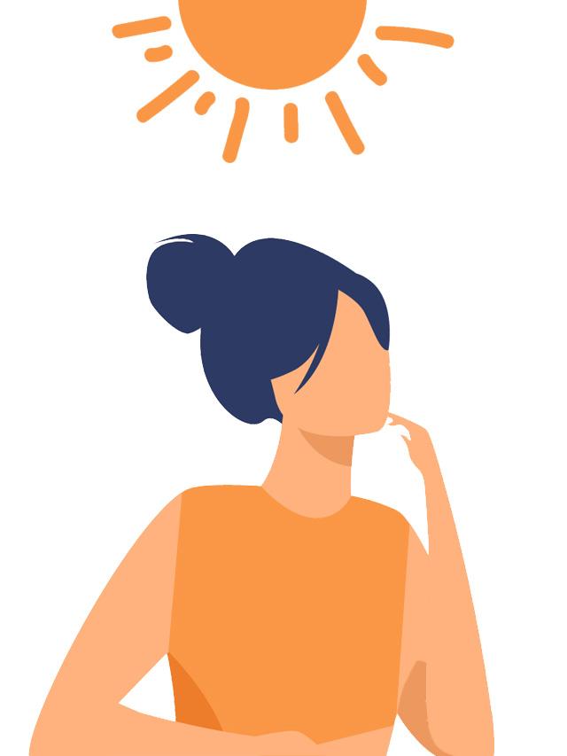 Por que proteger o cabelo do sol?